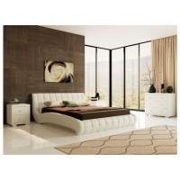 Кровать Nuvola 1 цвета люкс и ткань
