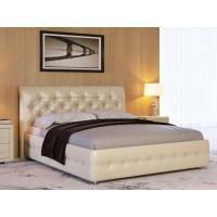 Кровать Life 4 (ткань и экокожа люкс)