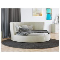 Кровать Орматек Luna (цвета люкс и ткань) диаметр 200 см