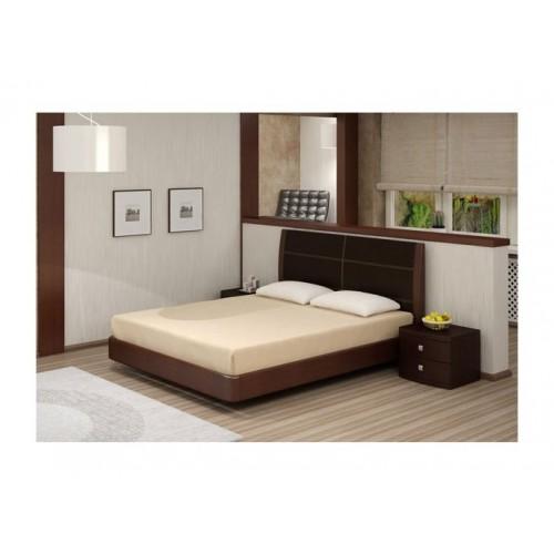 Кровать Торис Мати E1 (Лило) экокожа