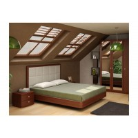 Кровать Торис Мати E2 (Виваре) экокожа