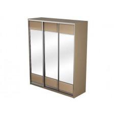 Шкаф-купе 3х дверный Como/Veda МДФ 3 зеркала